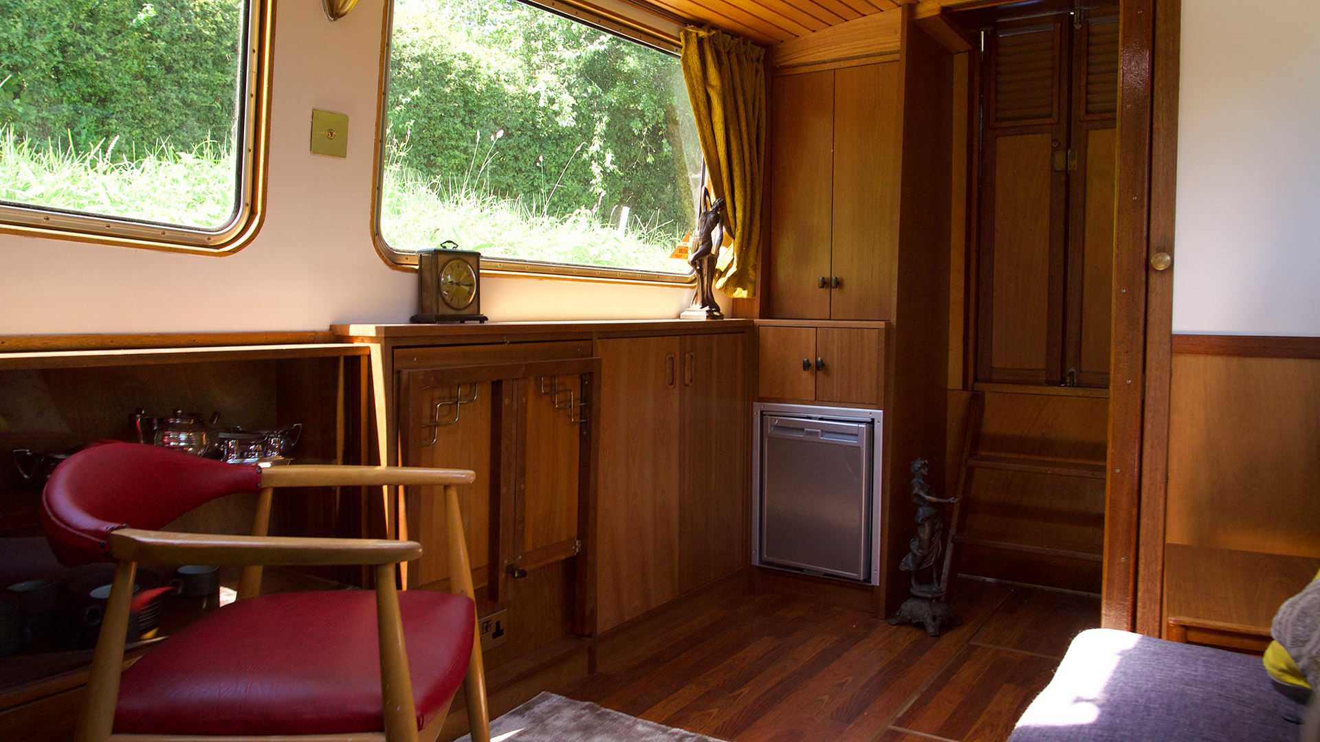 Fitted Furniture on Dutch Barge