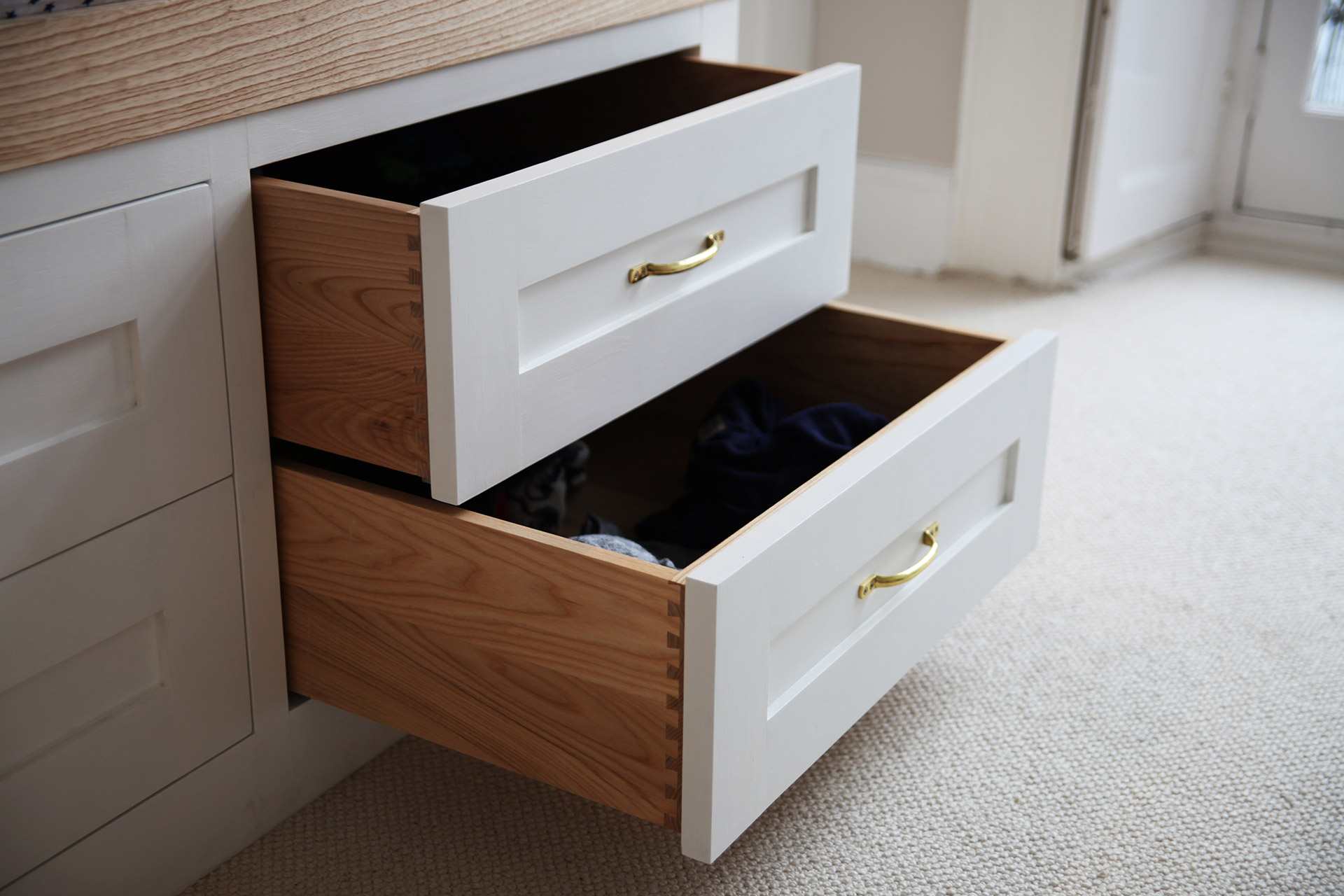 Bespoke Fitted Furniture Drawers